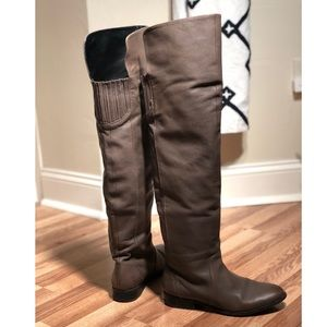 DV by Dolce Vita Over The Knee Grey Boots